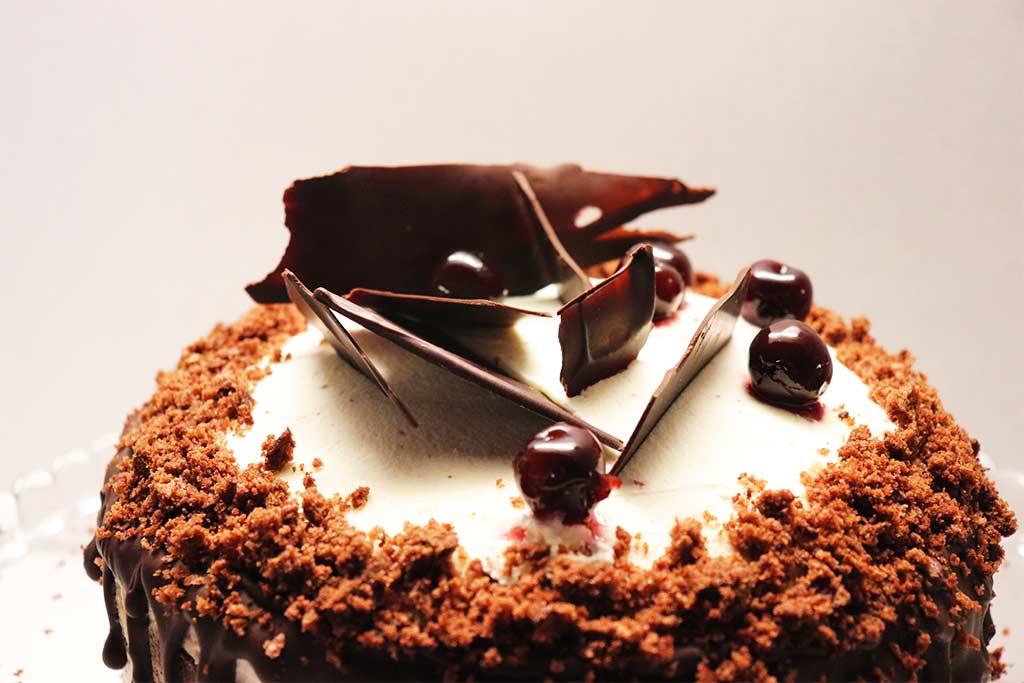 foto della torta foresta nera