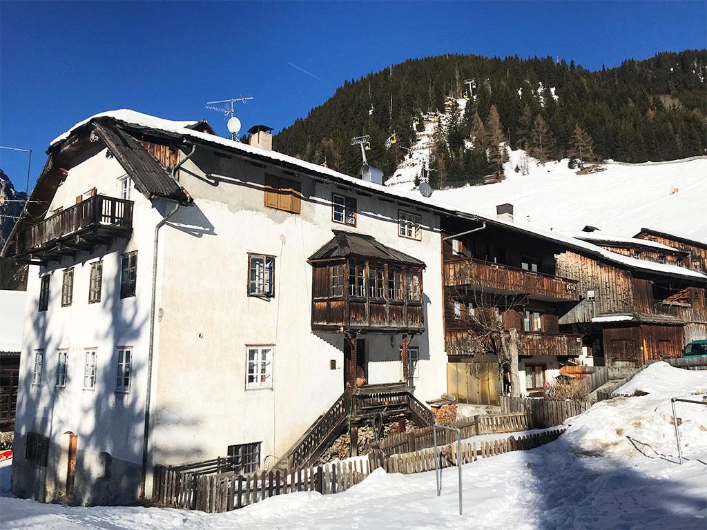 casa tradizionale di montagna