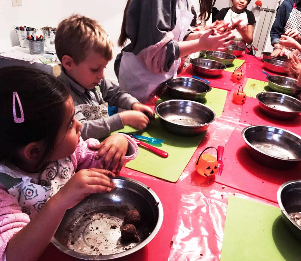 laboratori di cucina per bambini