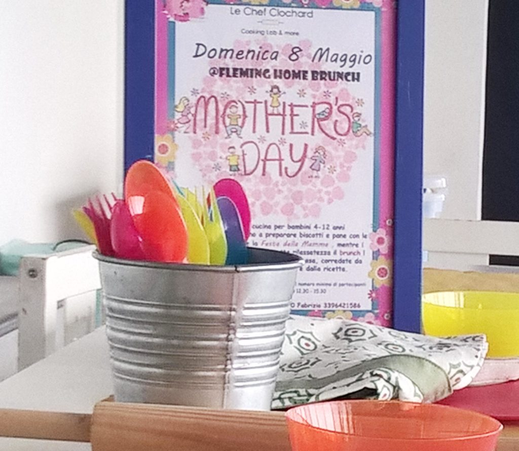 happy mother's day laboratorio di cucina per bambini