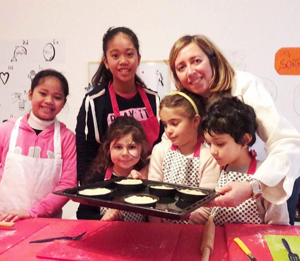 Chinese new year laboratorio di cucina per bambini