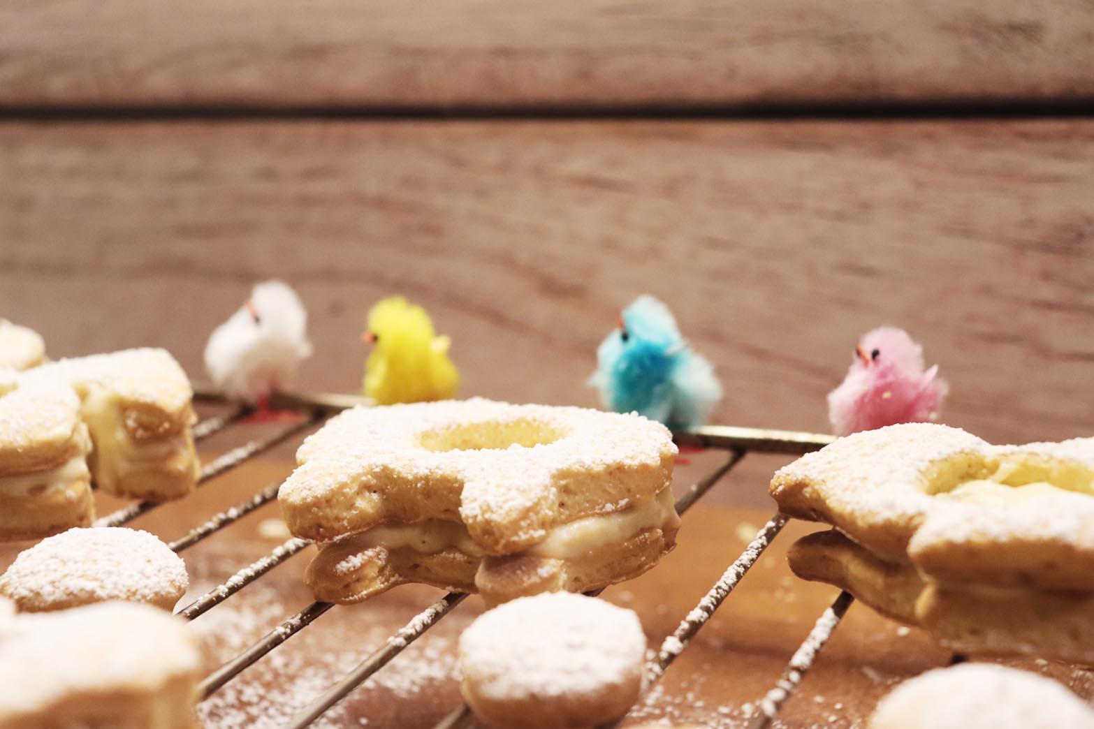 biscotti croccanti alla pastiera
