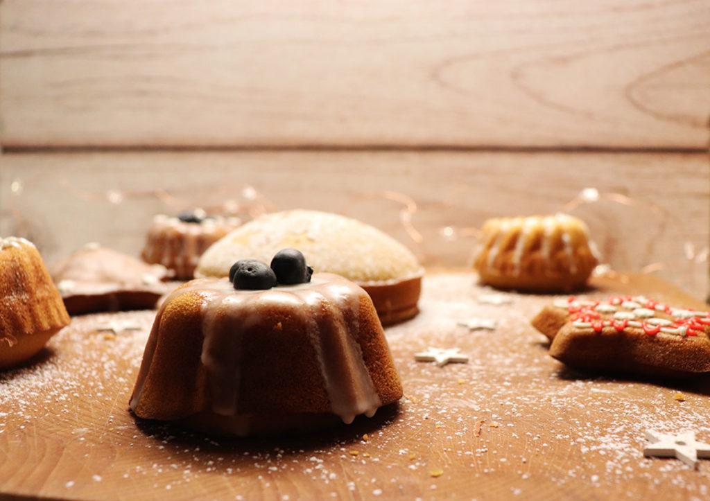 foto delle mini bundt cake