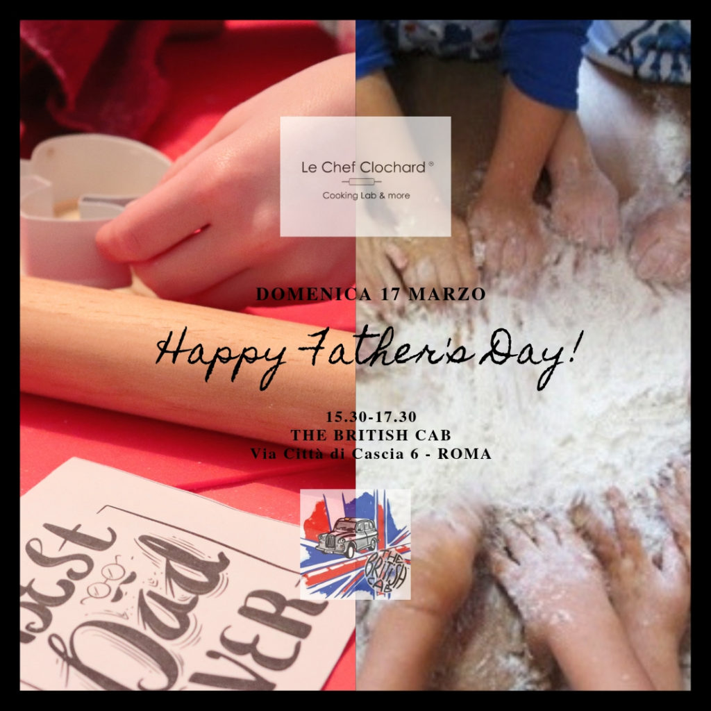 locandina happy Father's Day