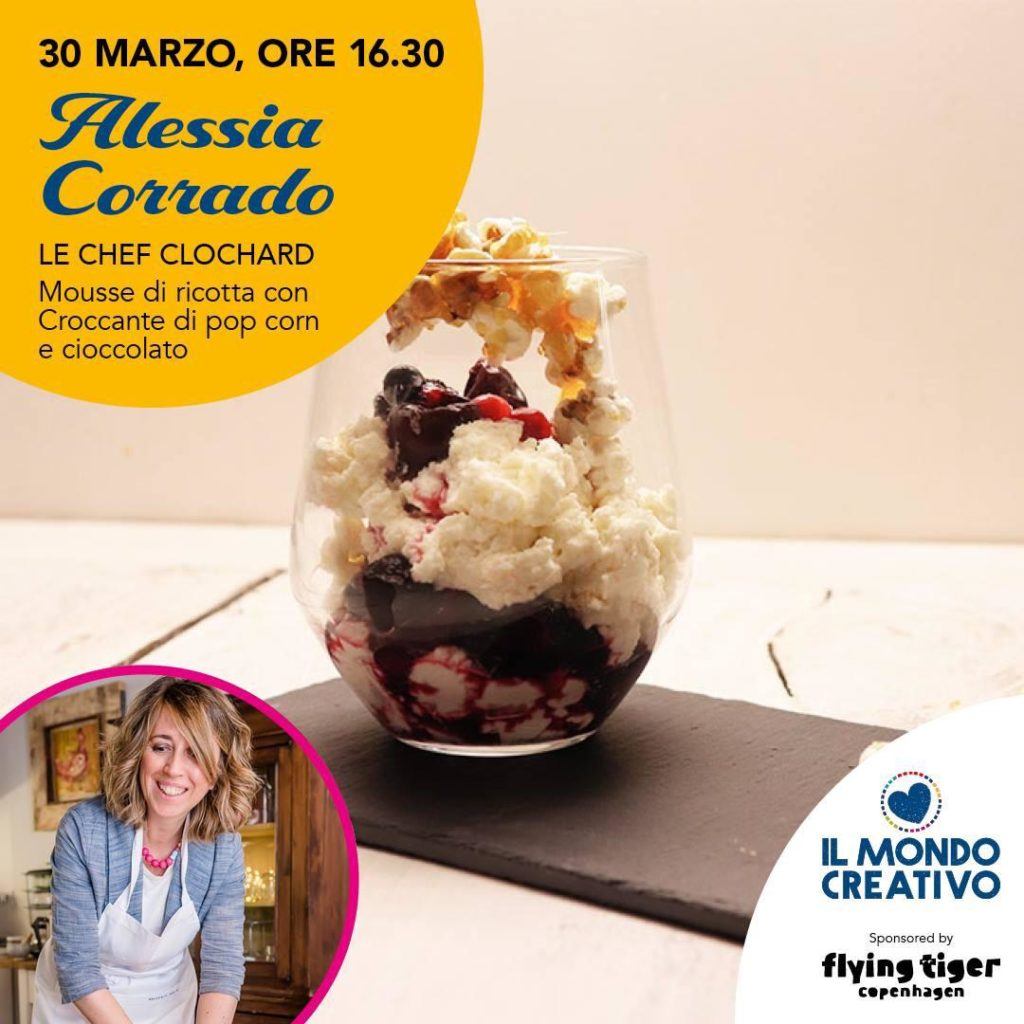 locandina del cooking show le chef clochard al mondo creativo