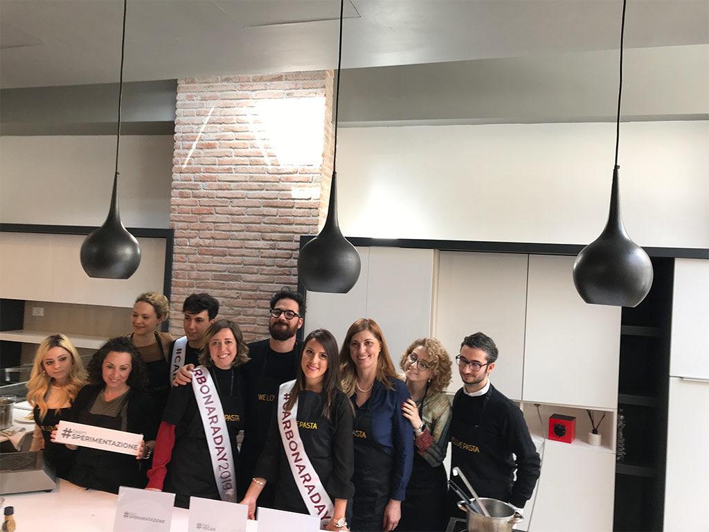 I team del carbonara challenge 2019