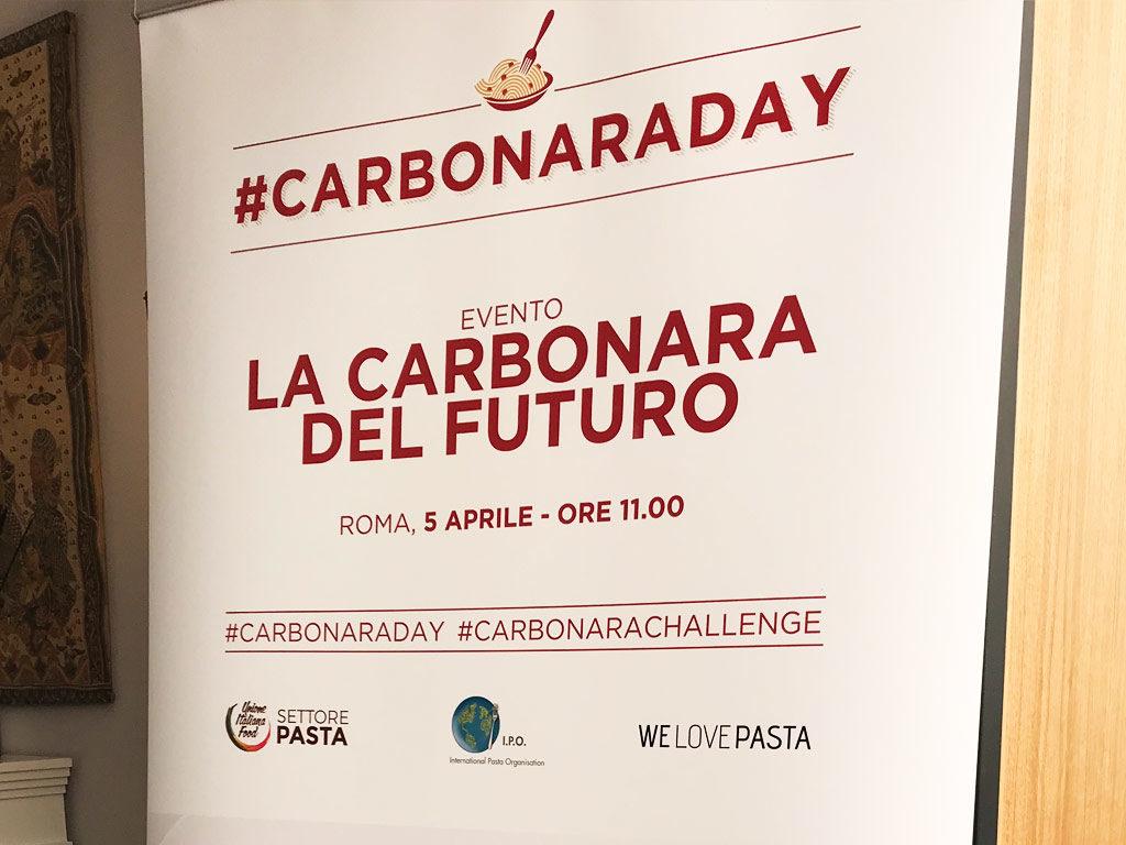 locandina del carbonara day