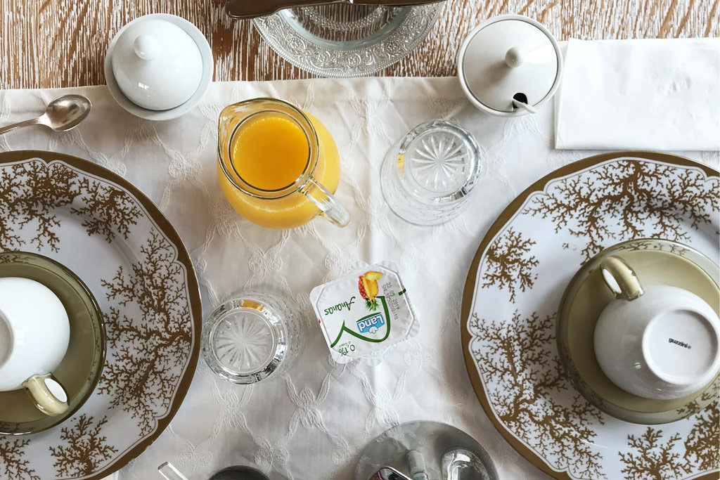 foto della colazione