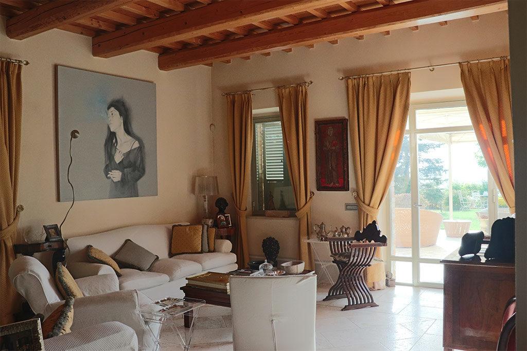 foto del soggiorno del Relais il Margarito