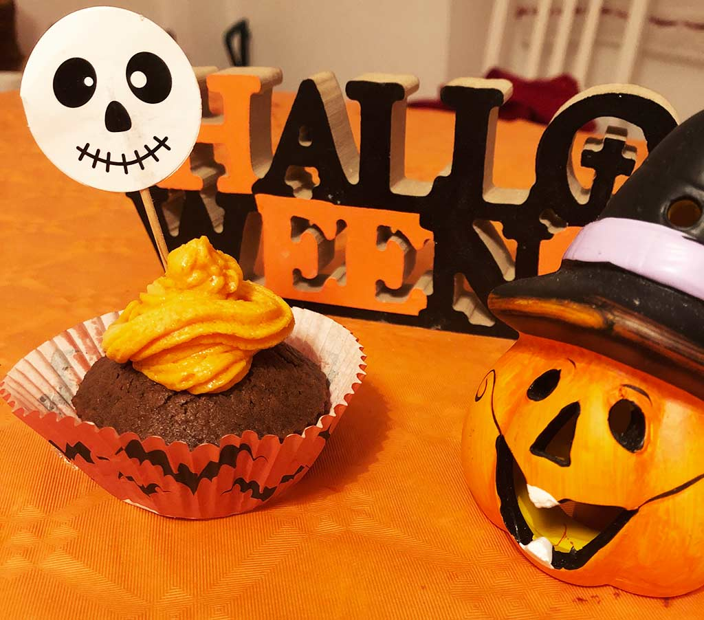 foto cup cake halloween