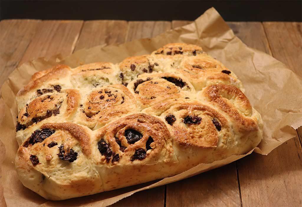 Foto del Chelsea Bun, dolce tipico inglese