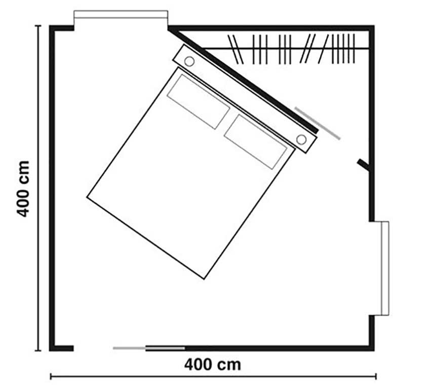 cabina armadio in camera