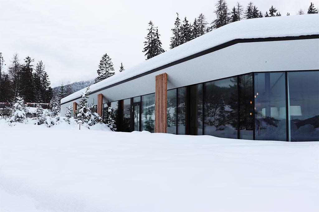 foto del centro benessere in montagna