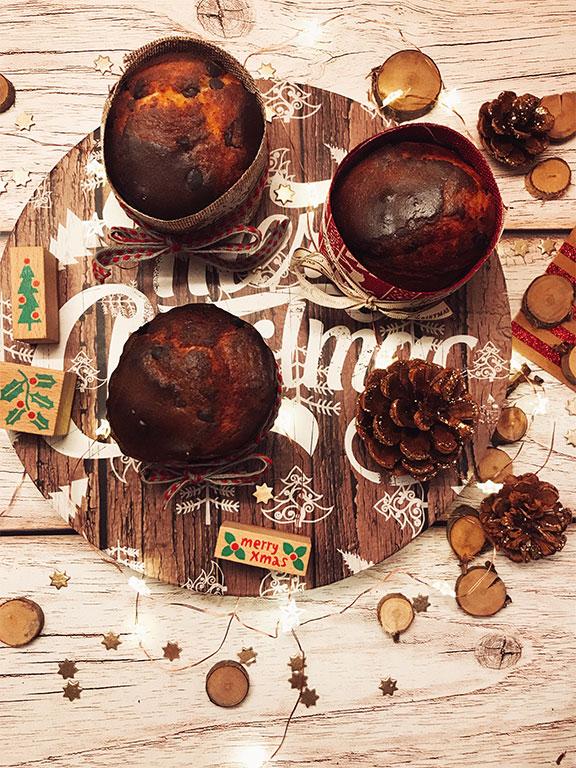 foto di Le Chef Clochard dei panettoncini al cioccolato
