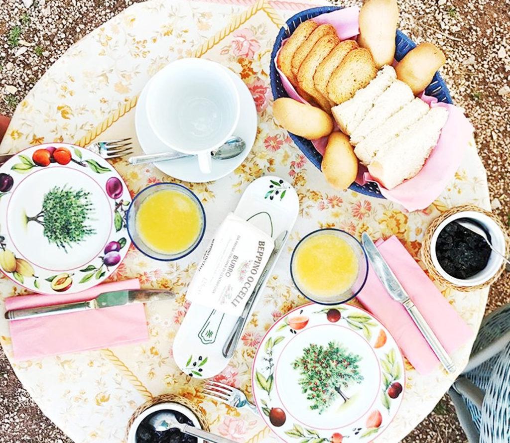 colazione in masseria