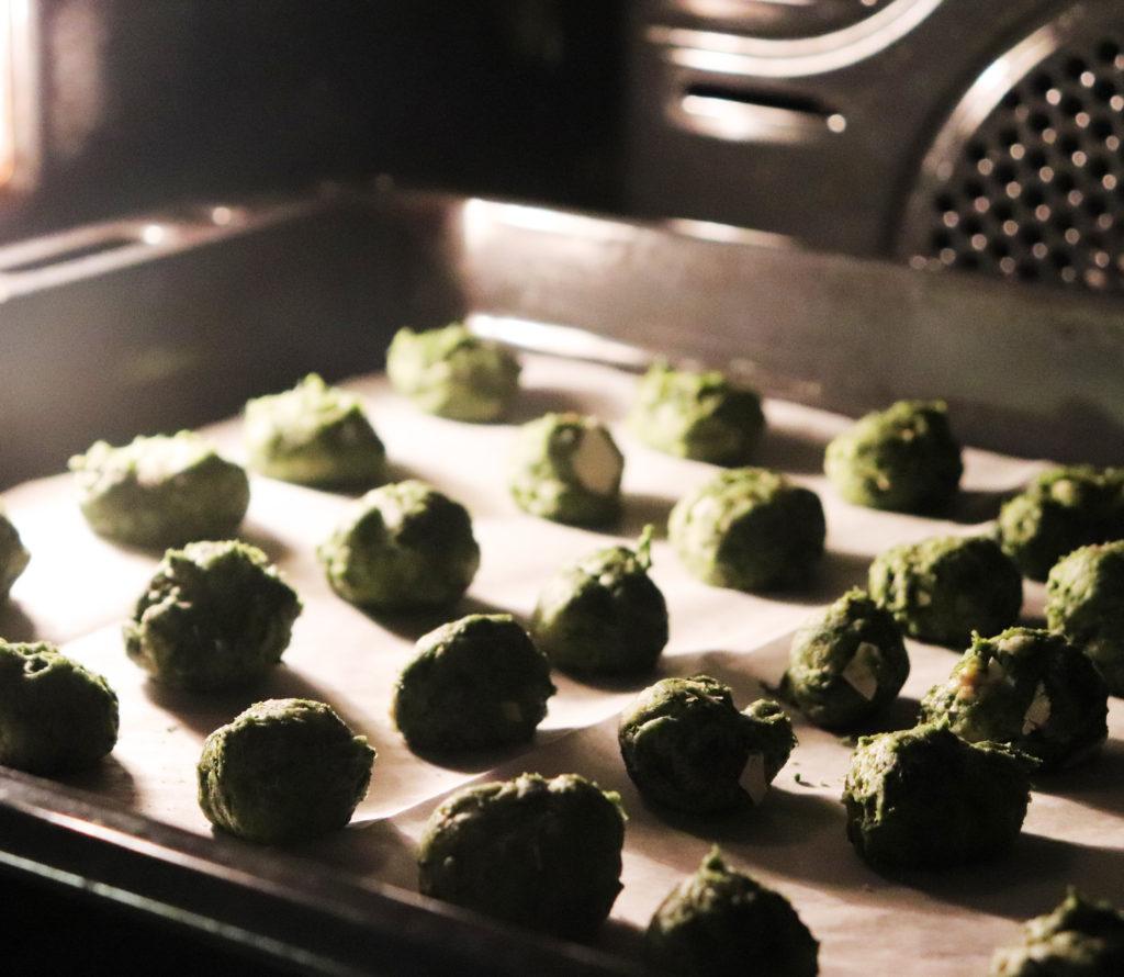infornata di bocconcini agli spinaci