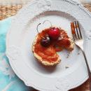 Foto della crostatina di albicocche