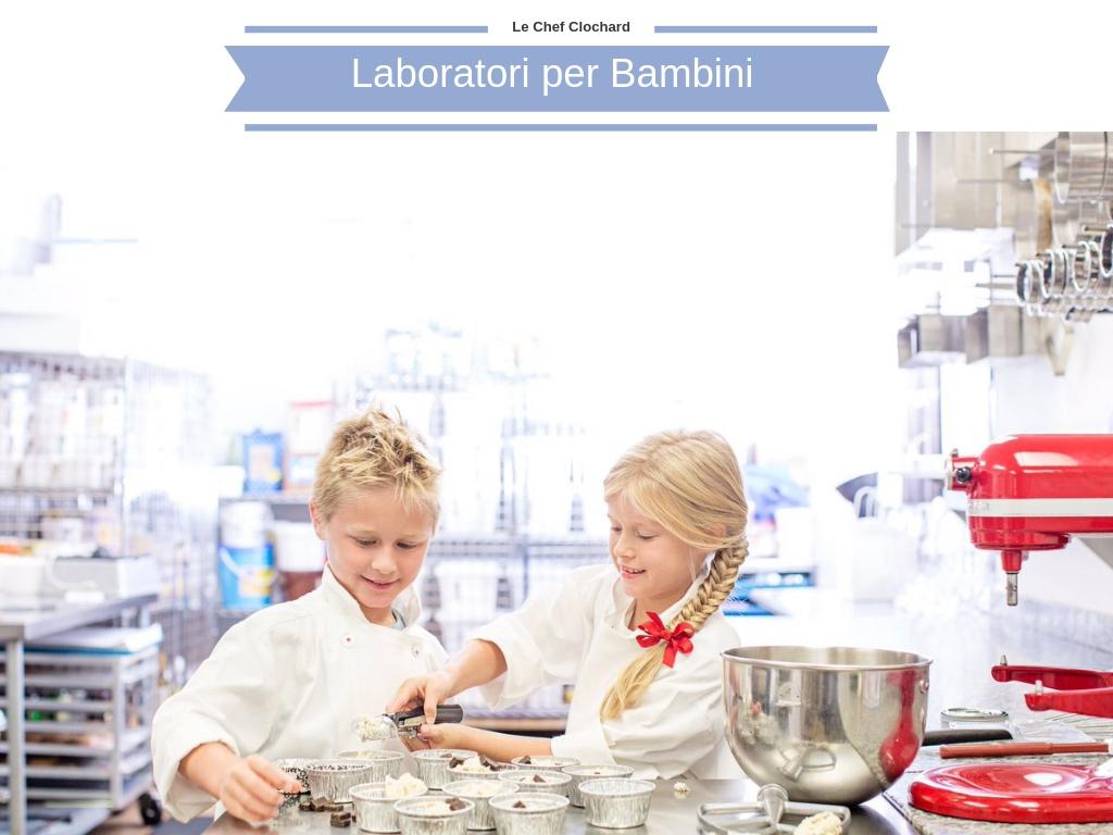 Foto dei laboratori per bambini