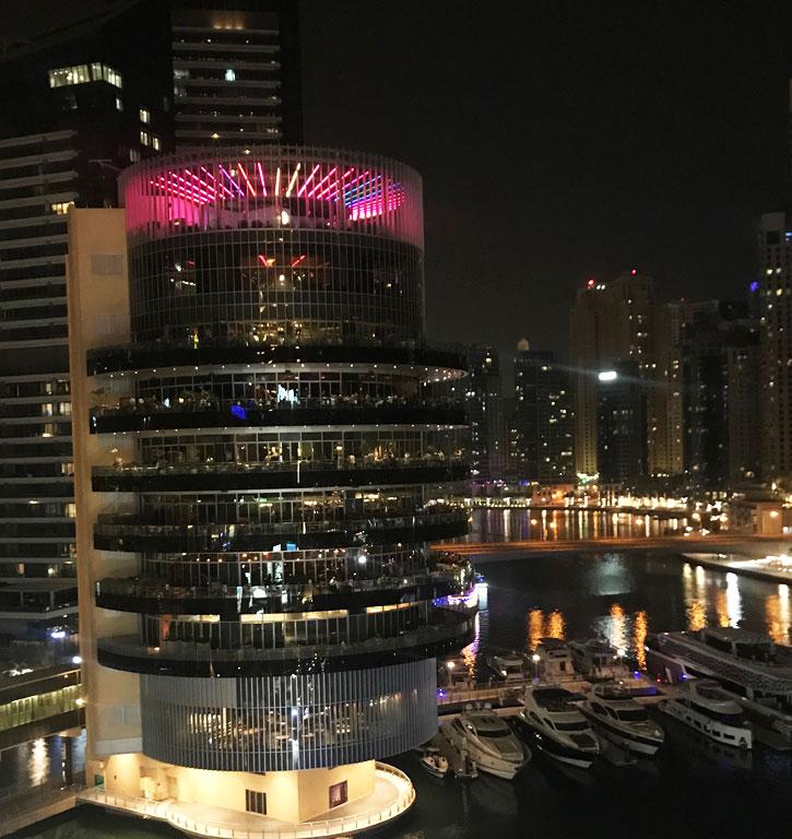 il grattacielo del ristornate Pier 7