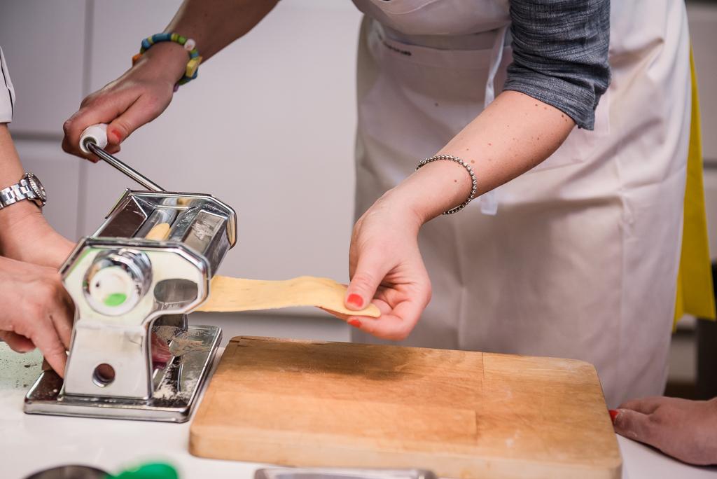 foto della macchinetta per fare la pasta