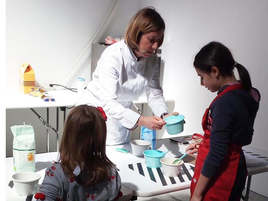 laboratorio di cucpacke con i bambini