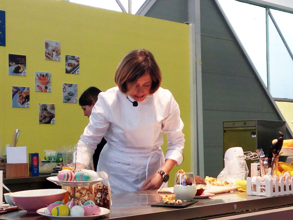 Food blogger le chef clochard sul palco